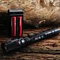 LED懐中電灯 / 携帯式フラッシュライト LED 400 ルーメン 1 モード Cree XR-E Q5 18650 / 単三電池 焦点調整可 キャンプ/ハイキング/ケイビング / 日常使用 / サイクリング / 旅行 / ワーキング / 登山 アルミ合金