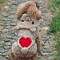 犬用品 コスチューム / パーカー ブラウン / グレー 犬用ウェア 冬 / 春/秋 ベア キュート / コスプレ