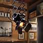MAX 60W Spot Light ,  Rustic/Lodge Painting svojstvo for svijeća Style MetalLiving Room / Bedroom / Dining Room / Study Room/Office /
