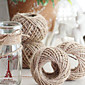 Jedna barva Juta Vjenčanje Vrpce Komad / set Weaving Ribbon Mašnica za dar