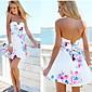 Ženska plaža / povremeni rukava haljina (pamuka)