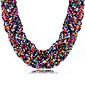 Ogrlice Choker oglice Jewelry Dnevno / Kauzalni Moda / Bohemia Style Opeka / Umjetno drago kamenje Crna / Bijela / Zelena / Roza 1pc