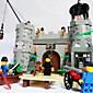 prosvijetli gusari opljačkaju Barack dvorac građevnih blokova postavlja 366pcs DIY građevinski cigle igračke
