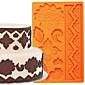 torta ukras alat globalna fondant i guma zalijepi kalup torte granica silikonski kalup FM-03
