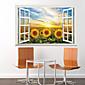 Vacanze Adesivi murali Adesivi 3D da parete , pvc 60x90x0.1cm