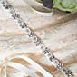 サテン ウェディング / パーティー/フォーマル / 日常着 サッシュ-スパンコール / ビーズ / アップリケ / パール / ラインストーン 女性 250cm スパンコール / ビーズ / アップリケ / パール / ラインストーン