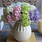 Polyester / Umělá hmota Hortenzie Umělé květiny