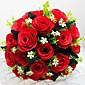 """Svatební kytice Kulatý Růže Kytice Svatba Párty / večerní akce Satén 25 cm (cca 9,84"""")"""