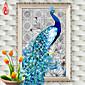DIY 5d dijamanti vez dijamant mozaik novi paun duša voljeti okrugli dijamant na platnu križićima setove uređenje doma