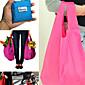 Kapacita pro opakované použití skladování nákupní taška rozkládací schopni s potravinami velká kapacita tašky vláčet (náhodné barvy)