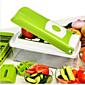 1 ks Cutter & Slicer For u ovoce / pro Vegetable Nerez Multifunkční / Vysoká kvalita / Tvůrčí kuchyně Gadget