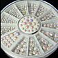 manikúra bílá ab galvanické diamantový kotouč 6cm12 mříž manikúra rotační kotouč
