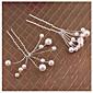 Žene Legura / Imitacija Pearl Glava-Vjenčanje / Special Occasion Hair Clip / Kosa stick 10 komada