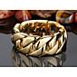 Narukvice Gipke i čvrste narukvice Tikovina Geometric Shape Moda Jewelry Poklon Zlatna,1pc