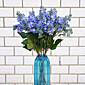 1 1 Podružnica Polyester / Plastika Lila Cvjeće za stol Umjetna Cvijeće 27.5inch/70cm