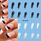 1 Nail Art naljepnica Prijenos vode Decals šminka Kozmetički Nail art dizajn