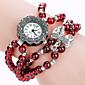 Dámské Módní hodinky / Náramkové hodinky Křemenný / PU Kapela Cool / Běžné nošení Červená Značka