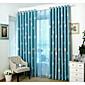 Jeden panel Window Léčba Moderní dětský pokoj Směs polybavlny Materiál Blackout Záclony závěsy Home dekorace For Okno