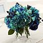 シルクのバラ造花結婚式の花1個/セット