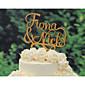 Figure za torte Personalized Par Classic Krom Vjenčanje Godišnjica Bijela Klasični Tema Vintage Tema rustikalni Tema 1 Poli Bag