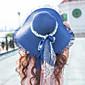 Žene Slamnati šešir Šešir za sunce-Vintage Ležerne prilike-Ljeto,Slama