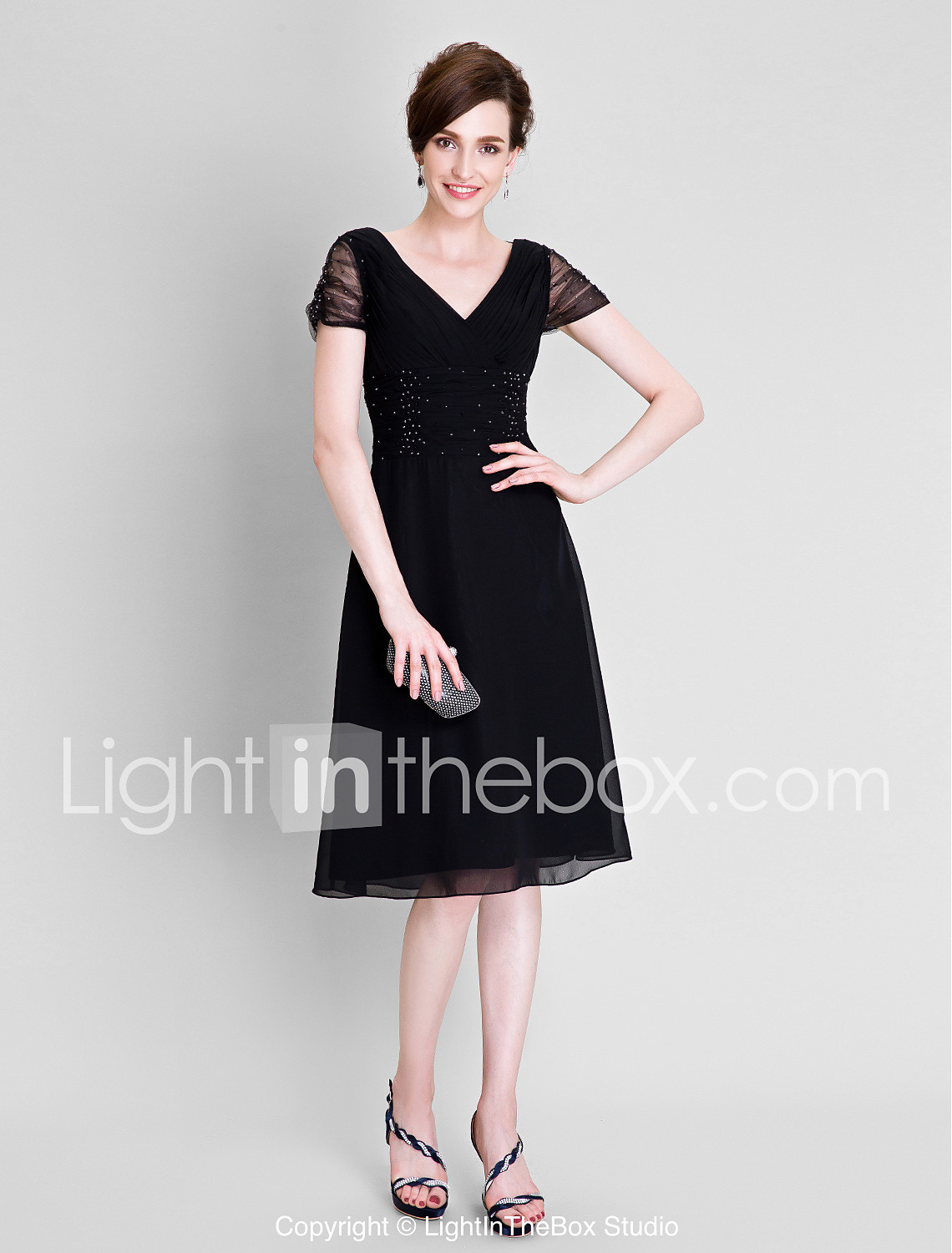 Tea-length, Mother of the Bride Dresses, Search LightInTheBox